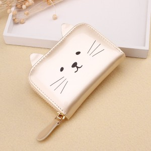 Mary Cat Purse Gold